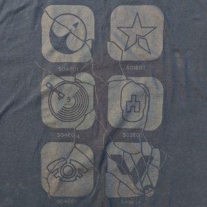 Black Mirror Loot Crate Exclusive 3XL Black Tshirt